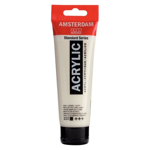 Naples yellow light 222 - Amsterdam Akrylfärg 120 ml
