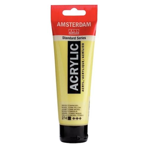 Nickel titanium yellow 274 - Amsterdam Akrylfärg 120 ml