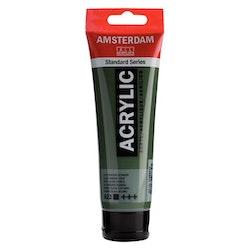 Olive green deep 622 - Amsterdam Akrylfärg 120 ml