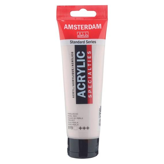 Pearl red 819 - Amsterdam Akrylfärg 120 ml