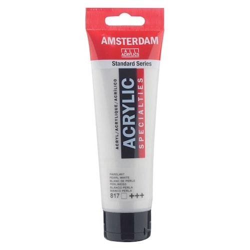 Pearl white 817 - Amsterdam Akrylfärg 120 ml