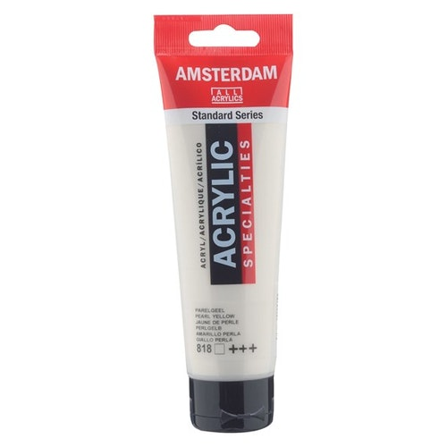 Pearl yellow 818 - Amsterdam Akrylfärg 120 ml