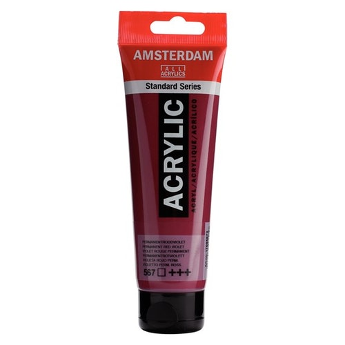 Permanent red violet 567 - Amsterdam Akrylfärg 120 ml