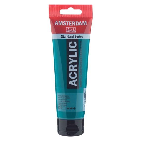 Phthalo green 675 - Amsterdam Akrylfärg 120 ml