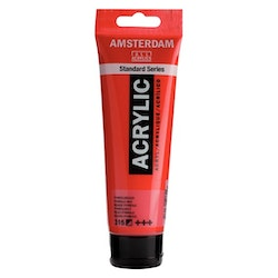 Pyrrole red 315 - Amsterdam Akrylfärg 120 ml