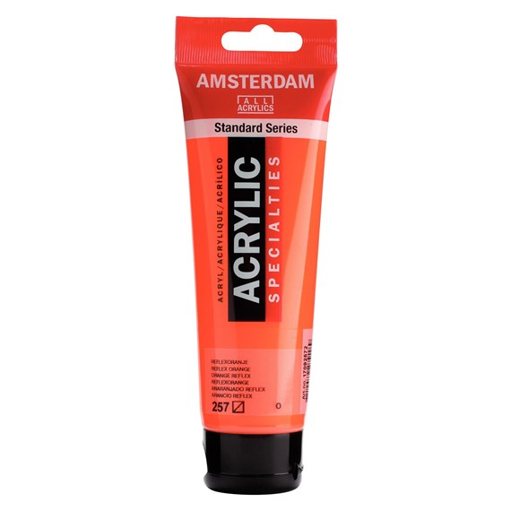 Reflex orange 257 - Amsterdam Akrylfärg 120 ml