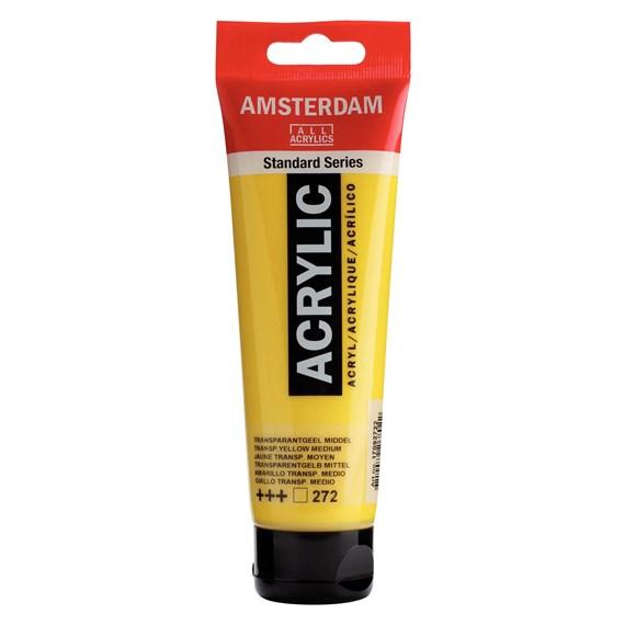 Transparent yellow green 272 - Amsterdam Akrylfärg 120 ml