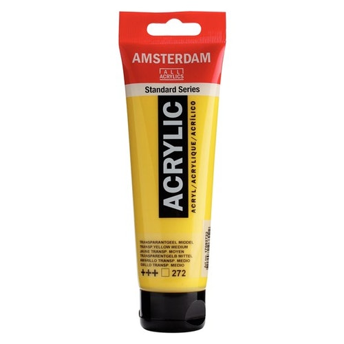 Transparent yellow green 272 - Amsterdam Akrylfärg 120 ml