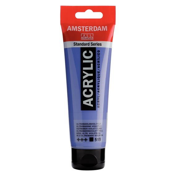 Ultramarine violet light 519 - Amsterdam Akrylfärg 120 ml