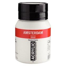Titanium White 105 - Amsterdam Akrylfärg 500 ml