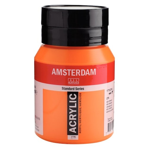 Azo orange 276 - Amsterdam Akrylfärg 500 ml