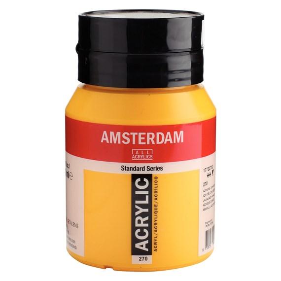 Azo yellow deep 270 - Amsterdam Akrylfärg 500 ml
