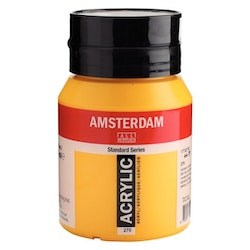 Azo yellow deep 270 - Amsterdam Akrylfärg 500 ml