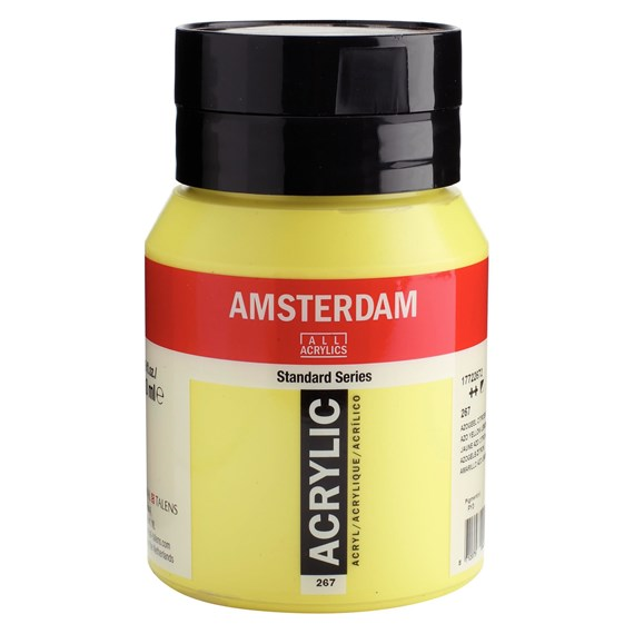 Azo yellow lemon 267 - Amsterdam Akrylfärg 500 ml