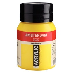 Azo yellow light 268 - Amsterdam Akrylfärg 500 ml