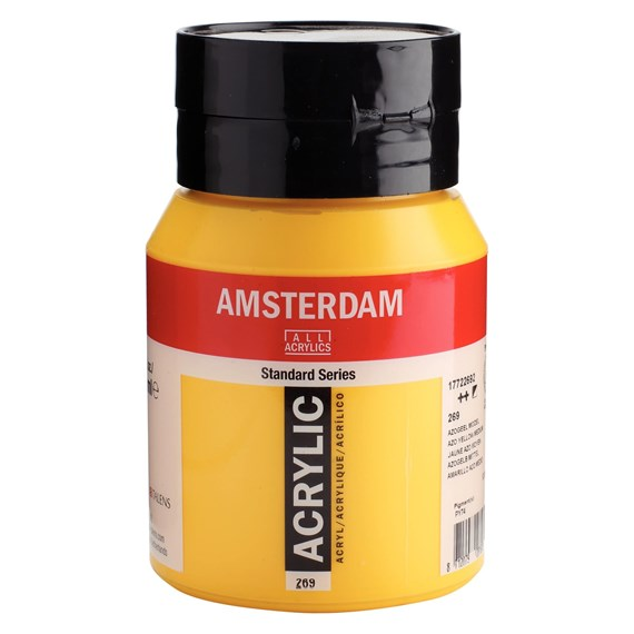 Azo yellow medium 269 - Amsterdam Akrylfärg 500 ml