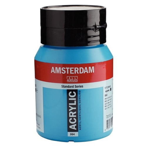 Brilliant blue 564 - Amsterdam Akrylfärg 500 ml