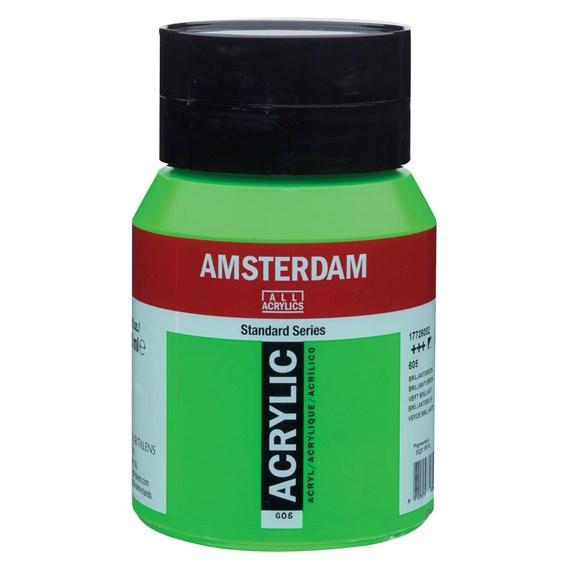 Brilliant Green 605 - Amsterdam Akrylfärg 500 ml