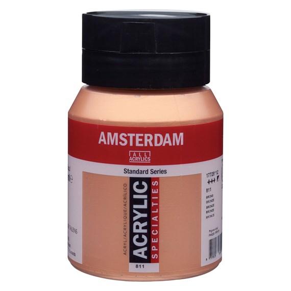 Bronze 811 - Amsterdam Akrylfärg 500 ml