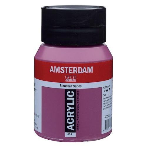 Caput mortuum violet 344 - Amsterdam Akrylfärg 500 ml
