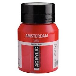 Carmine 318 - Amsterdam Akrylfärg 500 ml
