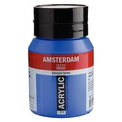 Cobalt blue (ultramine) 512 - Amsterdam Akrylfärg 500 ml