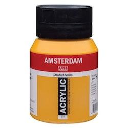 Gold ochre 231 - Amsterdam Akrylfärg 500 ml