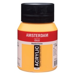 Gold yellow 253 - Amsterdam Akrylfärg 500 ml
