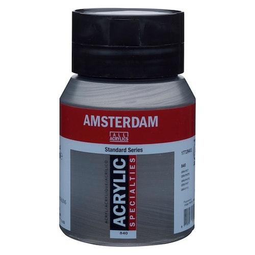 Graphite 840 - Amsterdam Akrylfärg 500 ml