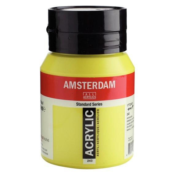 Greenish yellow 243 - Amsterdam Akrylfärg 500 ml