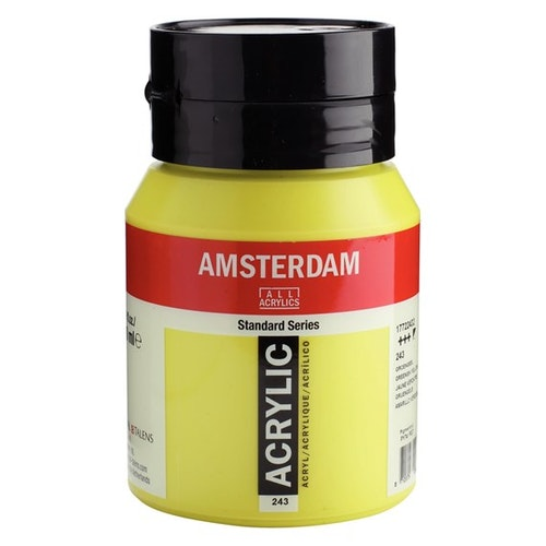 Greenish yellow 243 - Amsterdam Akrylfärg 500 ml