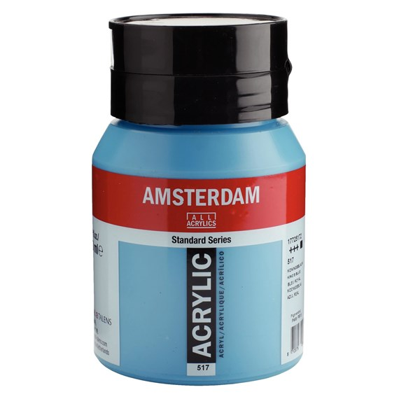 King's blue 517 - Amsterdam Akrylfärg 500 ml