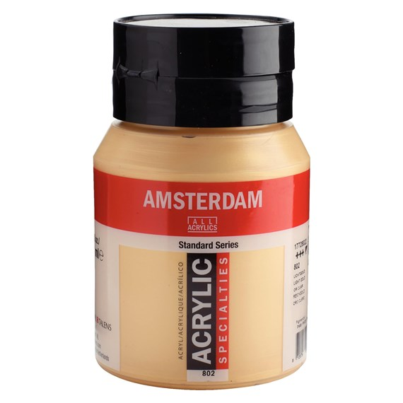 Light Gold 802 - Amsterdam Akrylfärg 500 ml