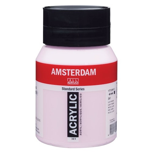 Light rose 361 - Amsterdam Akrylfärg 500 ml