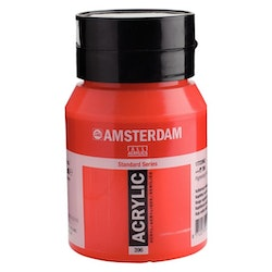 Naphthol red medium 396 - Amsterdam Akrylfärg 500 ml