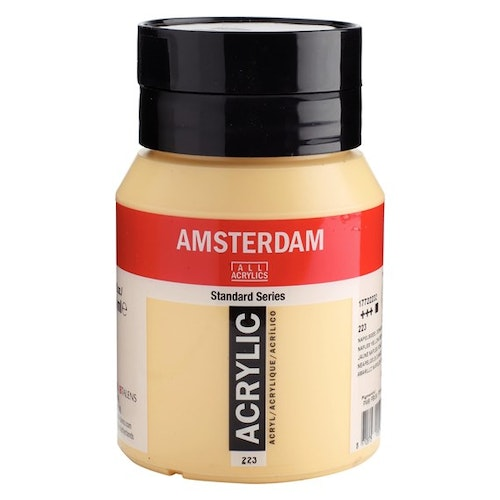 Naples yellow deep 223 - Amsterdam Akrylfärg 500 ml