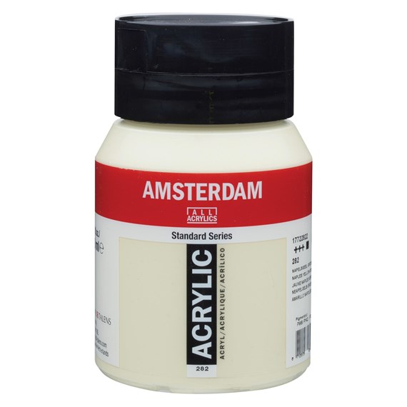 Naples yellow green 282 - Amsterdam Akrylfärg 500 ml