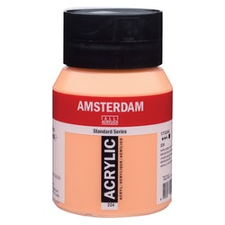 Naples yellow red 224 - Amsterdam Akrylfärg 500 ml