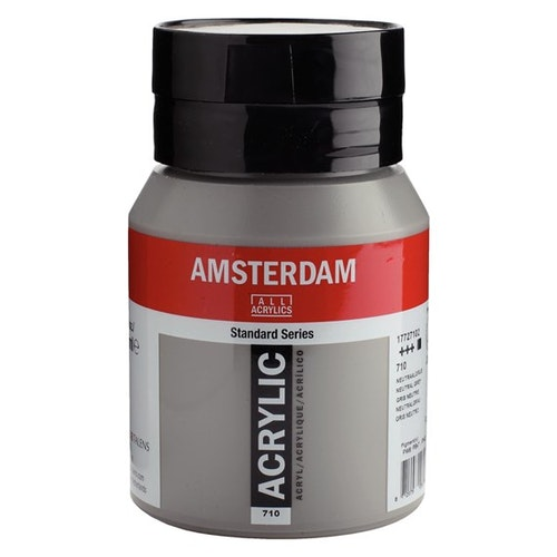 Neutral grey 710 - Amsterdam Akrylfärg 500 ml