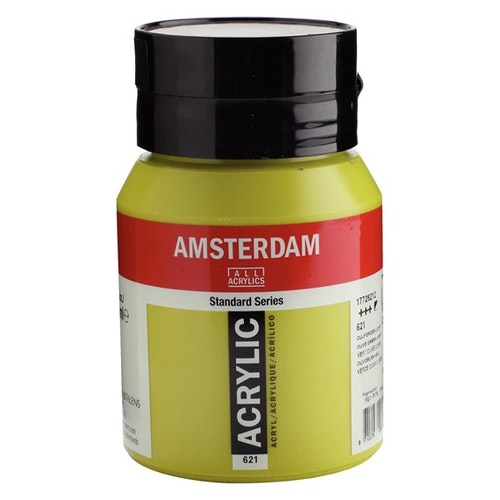 Olive green light 621 - Amsterdam Akrylfärg 500 ml