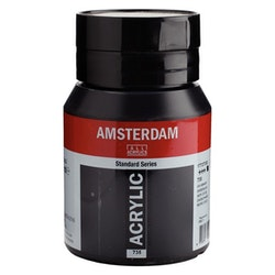 Oxide black 735 - Amsterdam Akrylfärg 500 ml
