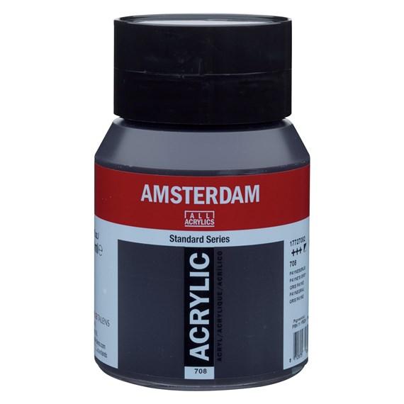 Payne's grey 708 - Amsterdam Akrylfärg 500 ml