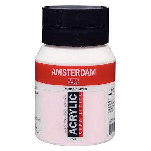 Pearl Violet 821 - Amsterdam Akrylfärg 500 ml
