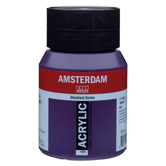 Permanent blue violet 568 - Amsterdam Akrylfärg 500 ml