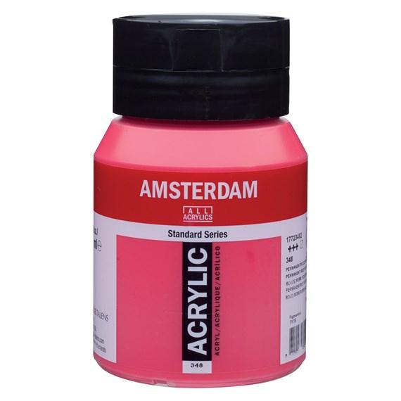 Permanent red purple 348 - Amsterdam Akrylfärg 500 ml