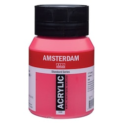 Permanent red purple 348 - Amsterdam Akrylfärg 500 ml