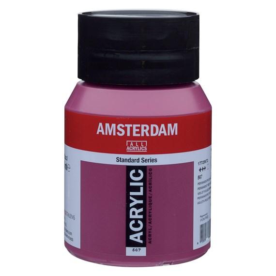 Permanent red violet 567 - Amsterdam Akrylfärg 500 ml