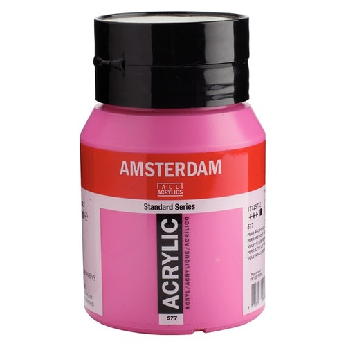 Permanent red violet light 577 - Amsterdam Akrylfärg 500 ml