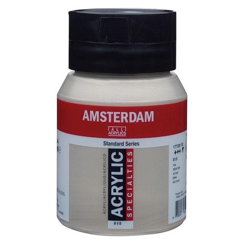 Pewter 815 - Amsterdam Akrylfärg 500 ml