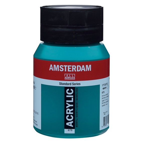 Phthalo green 675 - Amsterdam Akrylfärg 500 ml